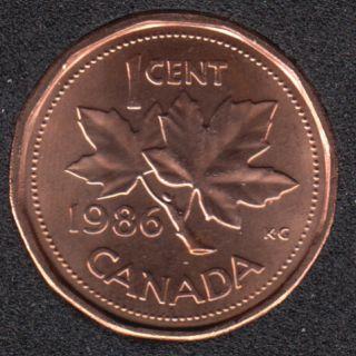 1986 - B.Unc - Canada Cent