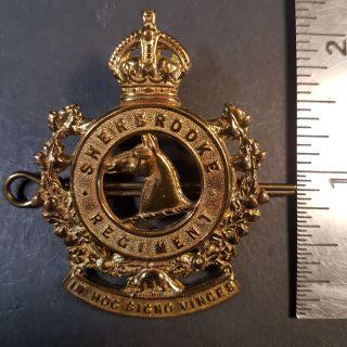 #1-193 Sherbrooke Regiment Cap Badge WWII