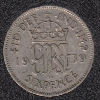1939 - 6 Pence - Great Britain