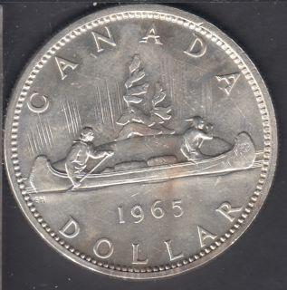 1965 - #1 - UNC - SBP5 - Canada Dollar