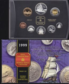 1999 CANADA DOUBLE DOLLAR PROOF SET