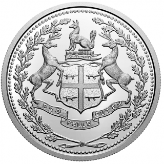 2020 - $10 - Pièce en argent pur – 350e anniversaire de la Compagnie de la Baie d'Hudson