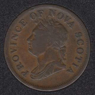 N.S. 1832 Penny Token - NS-2B2