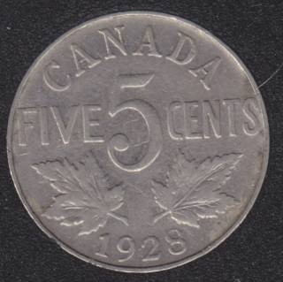 1928 - Canada 5 Cents