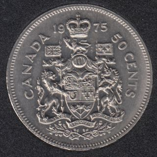 1975 - B.Unc - Canada 50 Cents