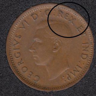 1947 ML - Break REX ET to Rim - Canada Cent