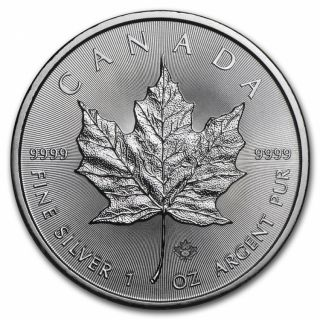 1 OZ 2016 MAPLE LEAF CANADA - AVAILABLE IN STORE ONLY - No tax
