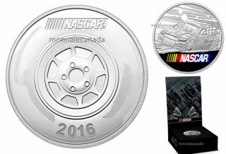 2016 - NASCAR® 1 oz. Fine Silver Medallion