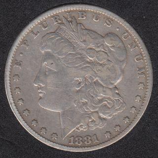 1881 - Morgan - Dollar