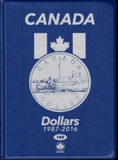 $1.00 Album Canada Uni-Safe (Dollar) 1987 a 2016