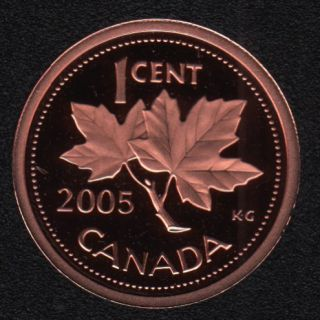 2005 - Proof - Canada Cent