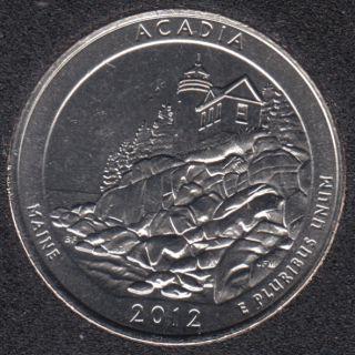 2012 D - Acadia - 25 Cents