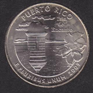 2009 P - Puerto Rico - 25 Cents