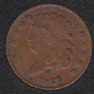 1828 - Classic Head Half Cent - 13 Stars