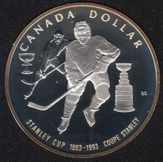 1993 - Proof - Argent  - Canada Dollar