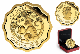 2016 - $150 - 99.999% Pure Gold Coin – Blessings of Good Health