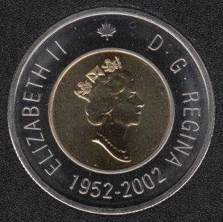 2002 - 1952 - Specimen - Canada 2 Dollars