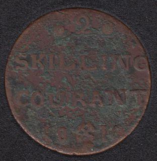 1810 - 2 Skilling - Norvège