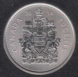 2014 - Specimen - Canada 50 Cents