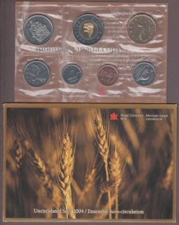 2004 Uncirculated (P-L) Mint Set