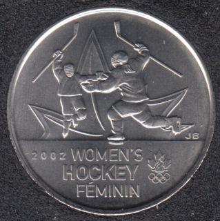 2009 - #5 B.Unc - Women's Hockey - Canada 25 Cents