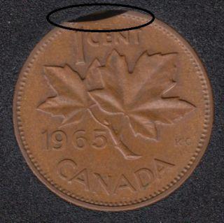 1965 - Clip - Canada Cent