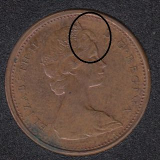 1965 - Double Tête - Canada Cent