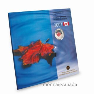 2007 - Oh Canada 25 cents Coloured - gift set Commemorative