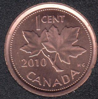2010 - B.Unc - Non Mag. - Canada Cent