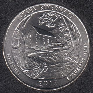 2017 D - Ozark Riverways - 25 Cents