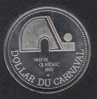 1985 Carnaval de Quebec - Dollar de Commerce