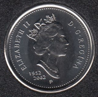 2002 - 1952 P - NBU - Canada 10 Cents