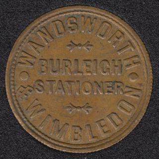 Winbledon - Wandsworth - Burleich Stationer - Value One Pound