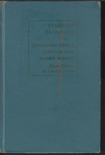 1961 - Charlton - Standard Catalogue of Canadian Coins Tokens and Paper Money - Use