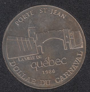 Quebec - 1980 Carnival of Quebec - Eff. 1961 / Porte St-Jean - Trade Dollar