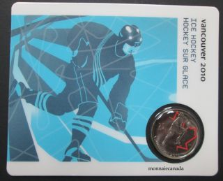 2010 - 25 cents - Vancouver - Ice Hockey Circulation Sport Cards