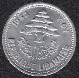 1955 - 5 Piastres - B.Unc- Liban