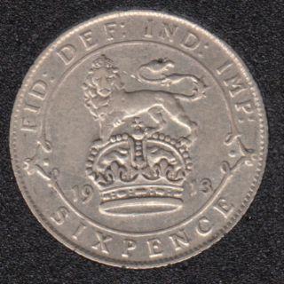 1913 - 6 Pence - Grande Bretagne