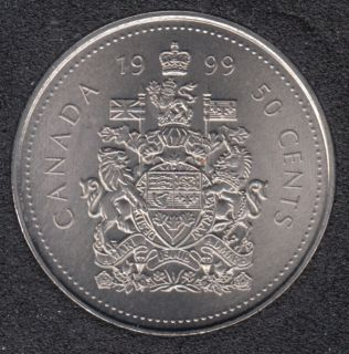 1999 P - NBU - Canada 50 Cents