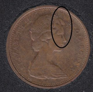 1972 - Double 'Tête' - Canada Cent