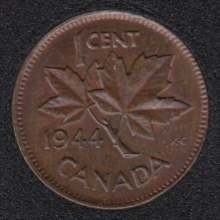 1944 - Red & Brown Unc - Canada Cent