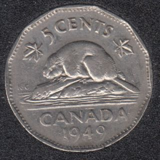 1949 - Canada 5 Cents