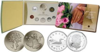 2008 Silver Dollar Wedding Proof Set  ***Mintage 508 set**