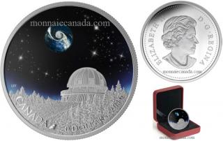 2016 - $20 - 1 oz. Fine Silver Coin - The Universe - Observatoire du Mont-Mégantic