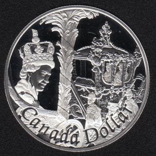 2002 - 1952 - Proof - Argent .925 - Canada Dollar