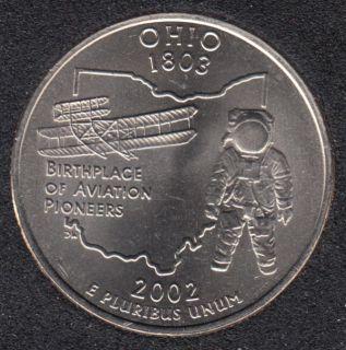 2002 D - Ohio - 25 Cents