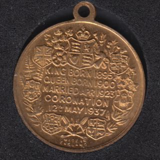 1937 - Coronation George VI - Elisabeth - Made in England