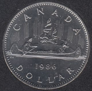 1986 - B.Unc - Nickel - Canada Dollar