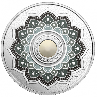 2018 - $5 - June Birthstone - Pure Silver Coin made with Swarovski® Crystal