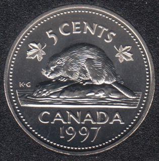 1997 - Specimen - Canada 5 Cents